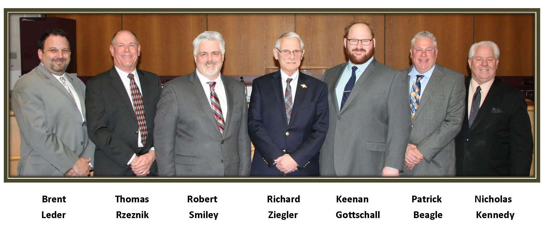 City Council Picture  -Feb 2018