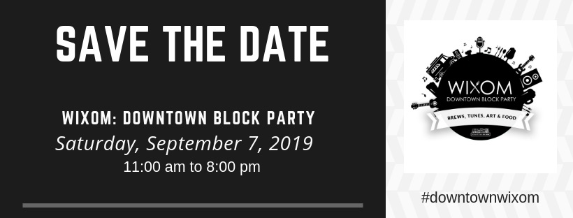 2019 Block Party FB header