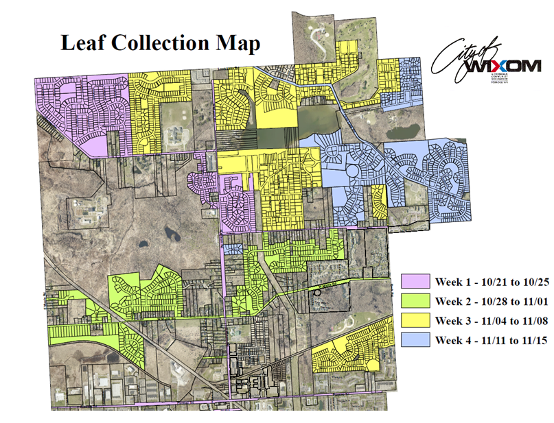 Leaf Collection Map
